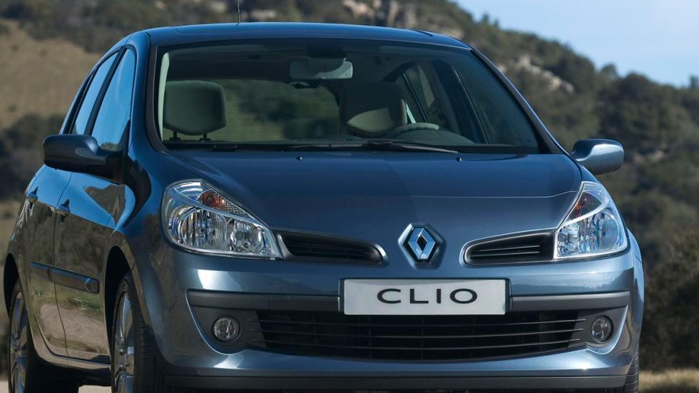 Renault Clio III delantera