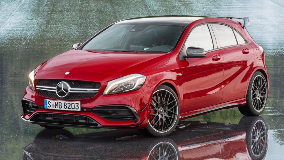 compactos-más-potentes-2016-Mercedes-AMG-A45