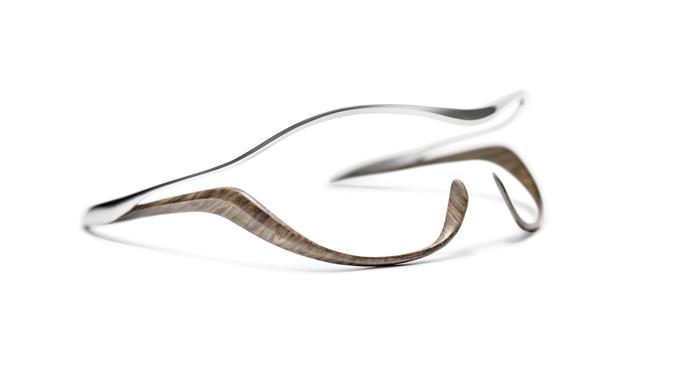 montura madera cromo gafas mercedes-benz