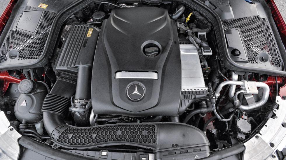 Mercedes C Coupé motor