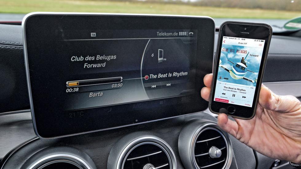Mercedes C Coupé conectividad