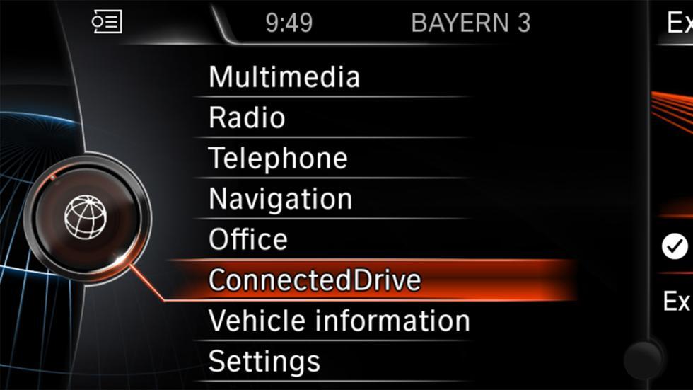 opciones sistema bmw connecteddrive
