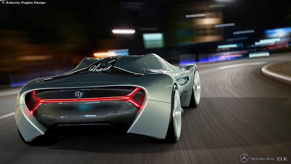 Mercedes ELK trasera