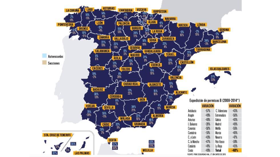 Censo-autoescuelas-España-por-provincias