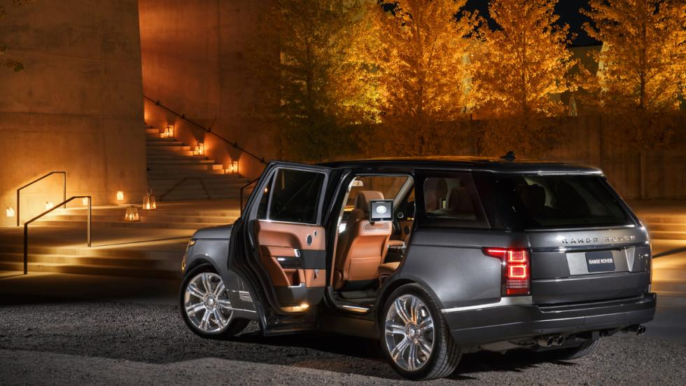 interior Range Rover SVAutobiography