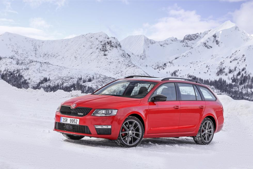 Skoda Octavia RS 4x4 combi lateral