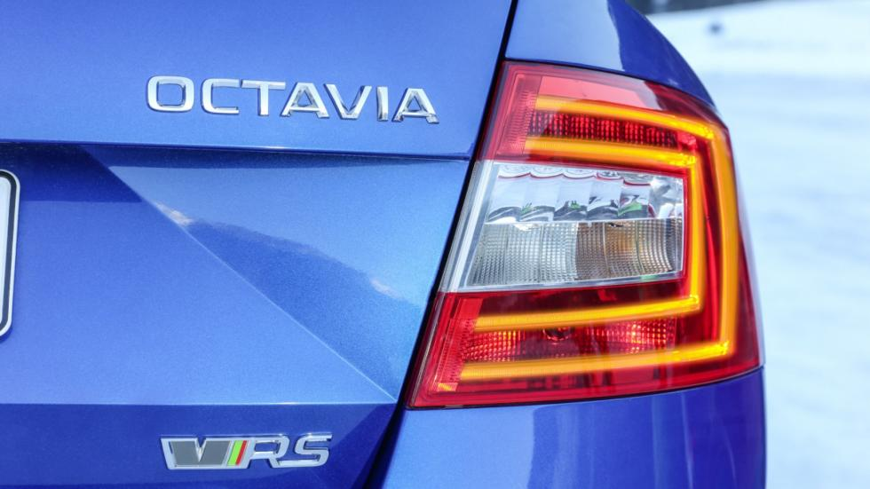 Skoda Octavia RS 4x4 luces
