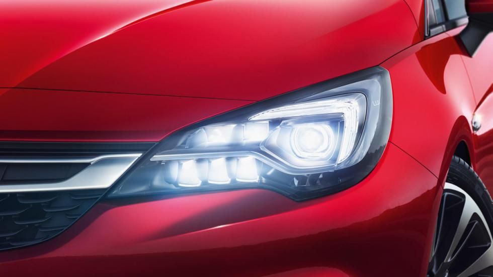 nuevo opel astra tecnologia led matrix light