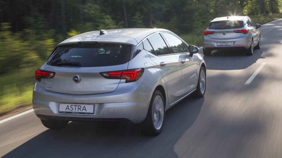tecnologías ayudan conductor nuevo opel astra