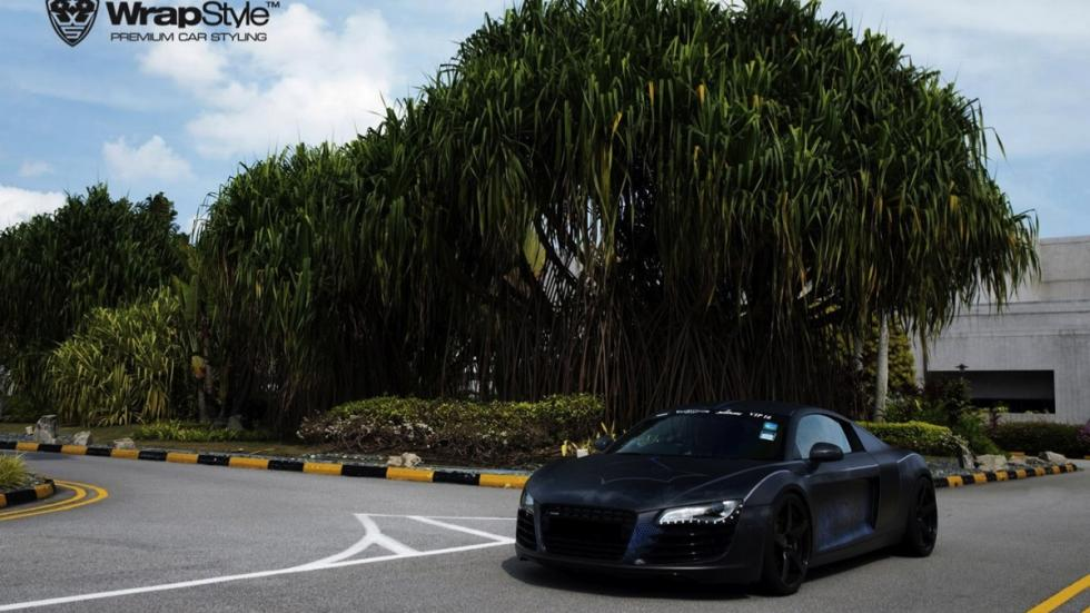 Audi R8 Batman estatica