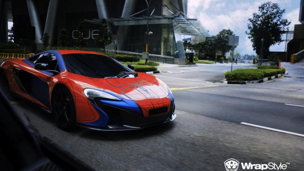 McLaren 650 S Spiderman