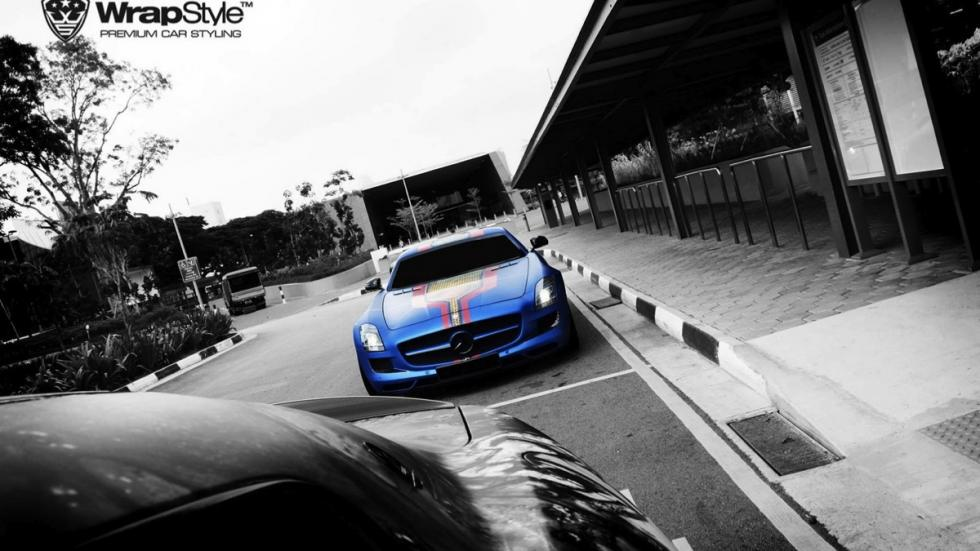 Mercedes SLS Superman