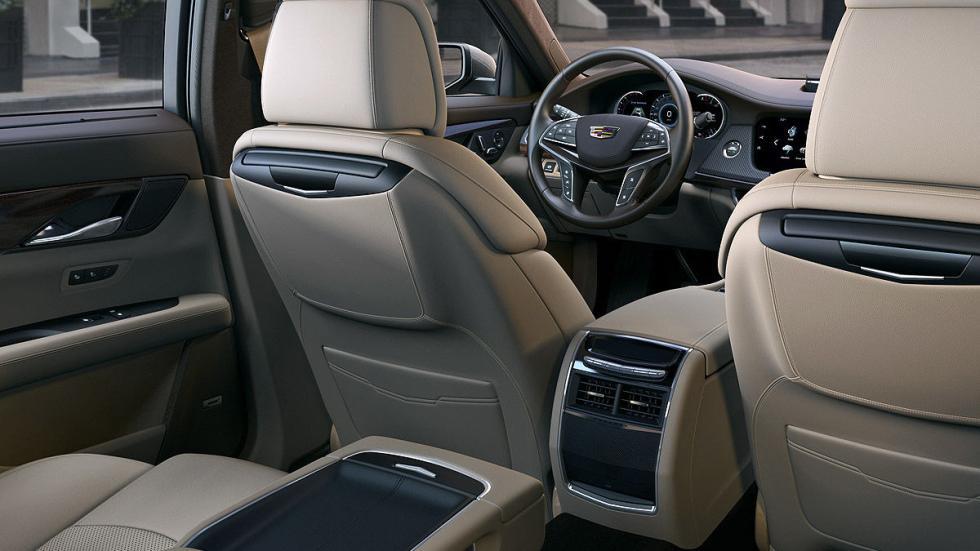 Cadillac CT6 espacio interior