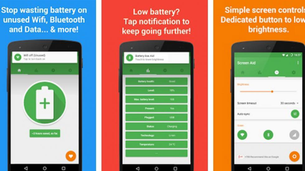 Battery Aid detecta conexiones