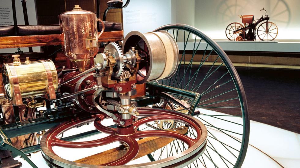 patent car de Mercedes museo