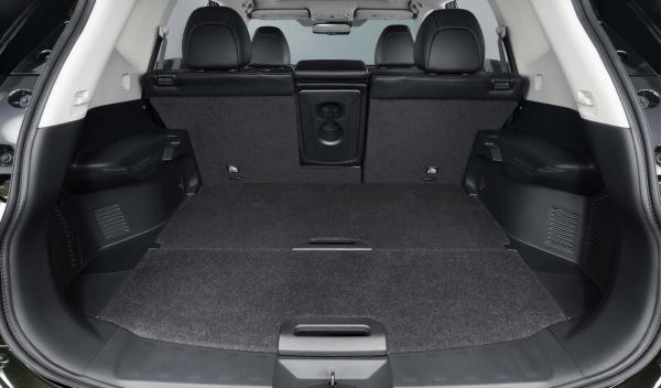 Nuevo Nissan X-Trail 2014 interior maletero