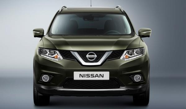 Nuevo Nissan X-Trail 2014 frontal estático