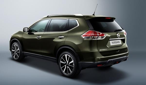 Nuevo Nissan X-Trail 2014 lateral estático
