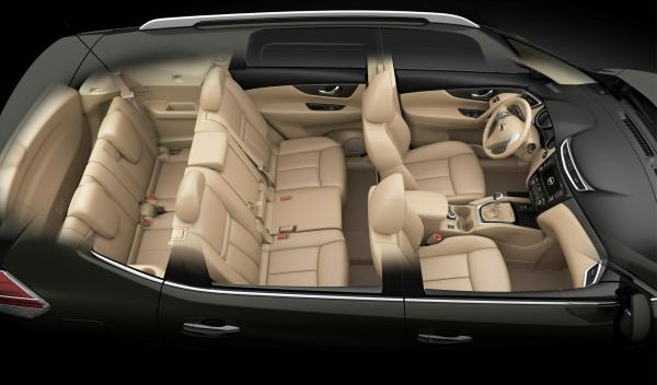 Nuevo Nissan X-Trail 2014 interior 7 plazas