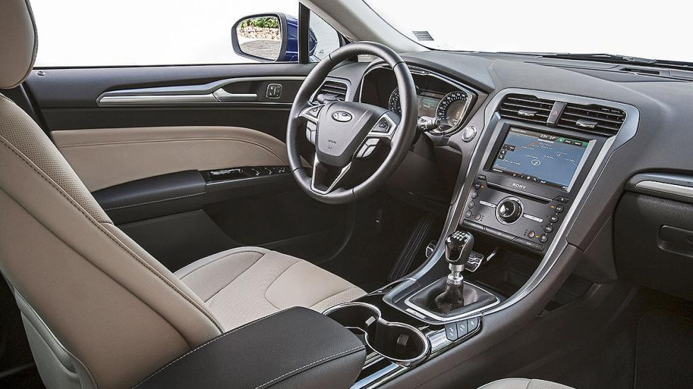 Ford Mondeo 2015 Sportbreak interior