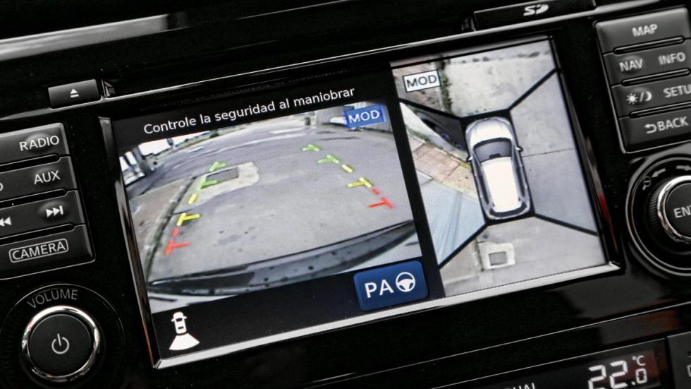 Nissan X-Trail 2014 pantalla