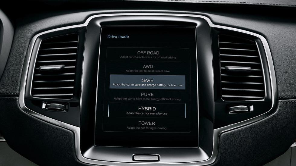 Volvo XC90 pantalla