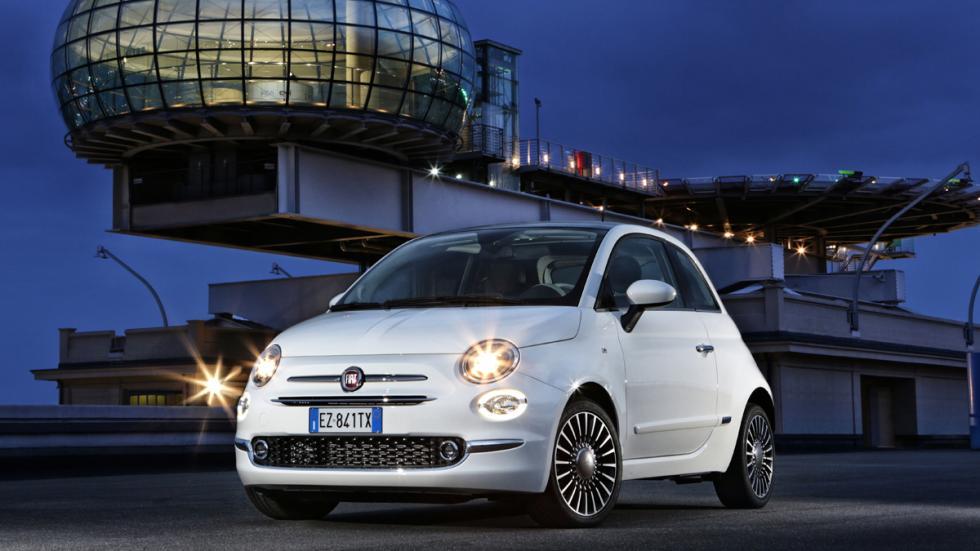 Fiat 500 2016 tres cuartos delanteros