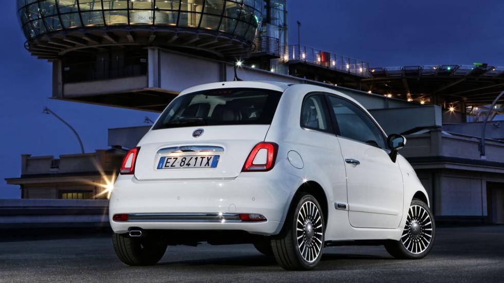 Fiat 500 2016 tres cuartos traseros