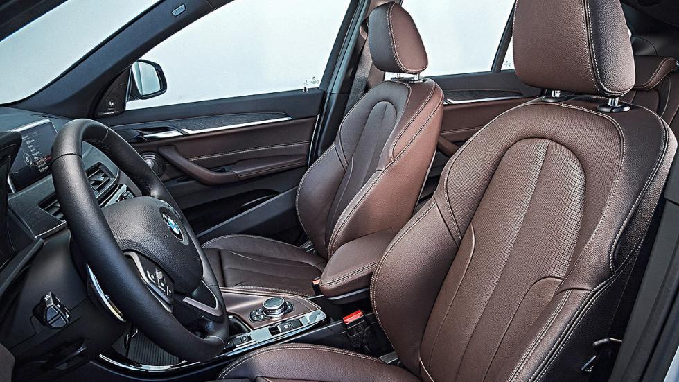 Prueba: BMW X1 2015 aientos