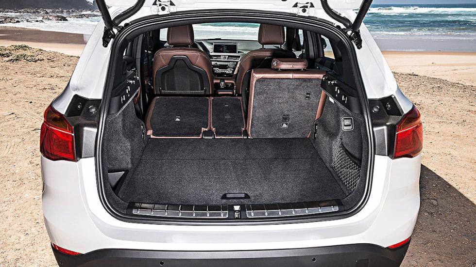 Prueba: BMW X1 2015 detalle maletero