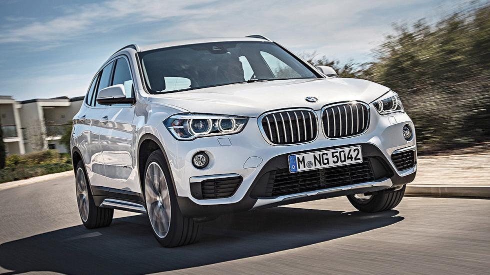 Prueba: BMW X1 2015 detalle carretera