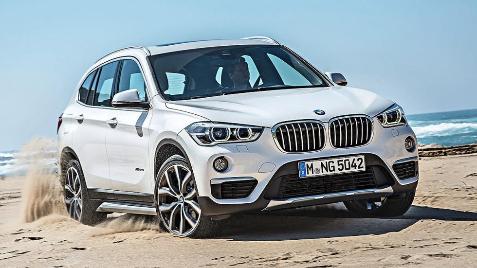 Prueba: BMW X1 2015 detalle playa