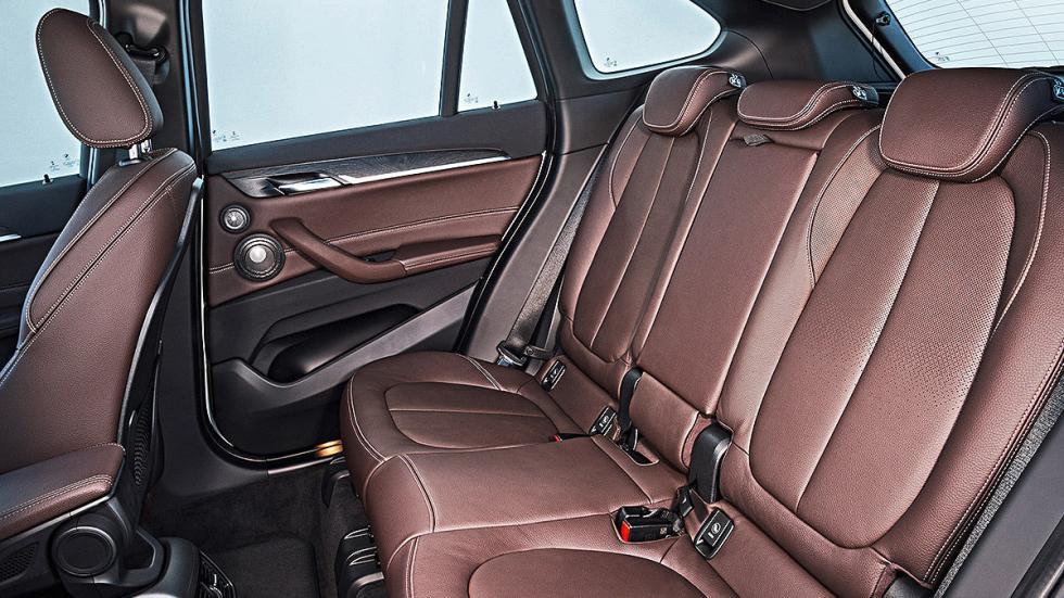 Prueba: BMW X1 2015 detalle traseras