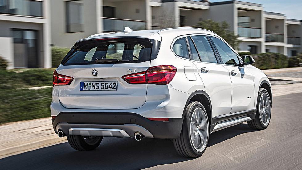 Prueba: BMW X1 2015 detalle zaga