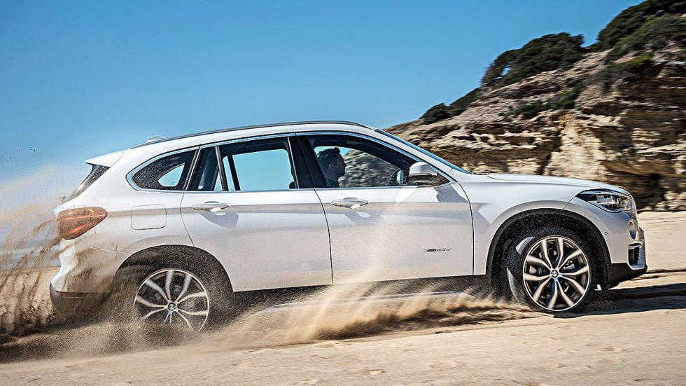 Prueba: BMW X1 2015 detalle lateral