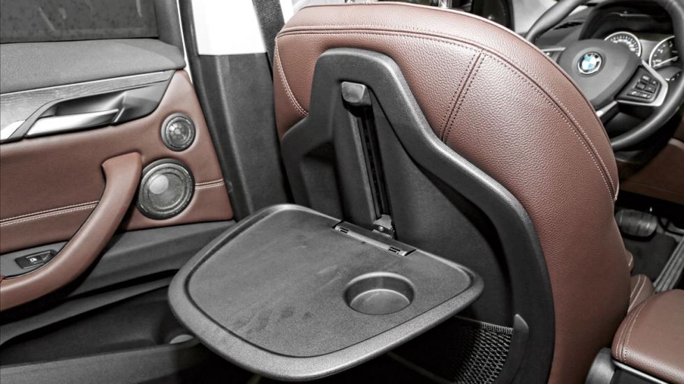 Prueba: BMW X1 bandejas