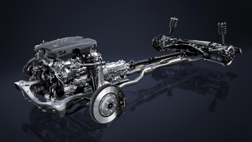 Lexus LC 500 chasis