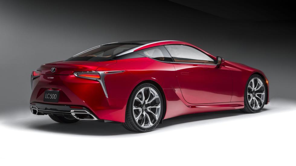 Lexus LC 500 estudio