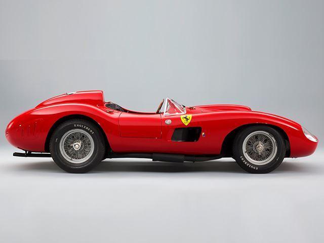 Ferrari 355 S Spider Scaglietti de 1957 lateral