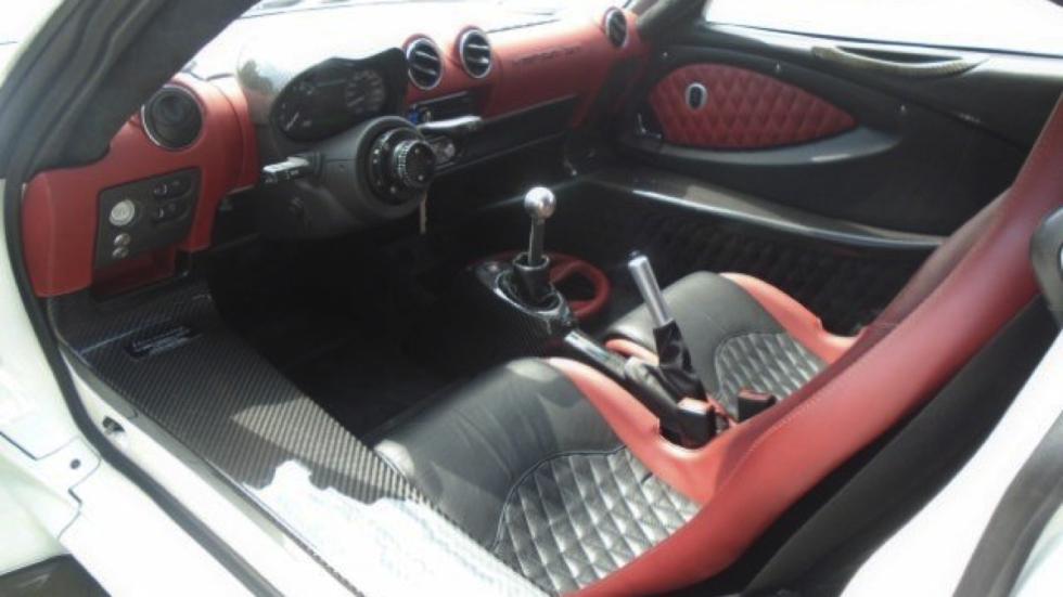 Hennessey Venom GT subasta interior