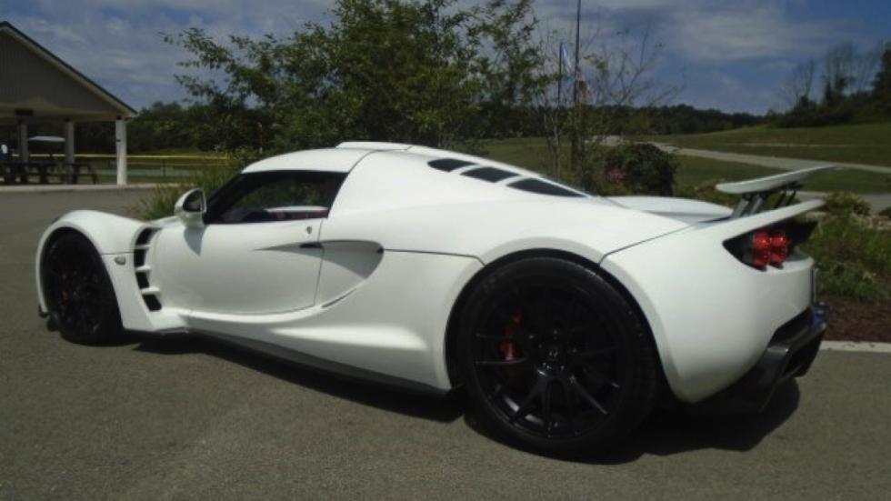 Hennessey Venom GT subasta perfil