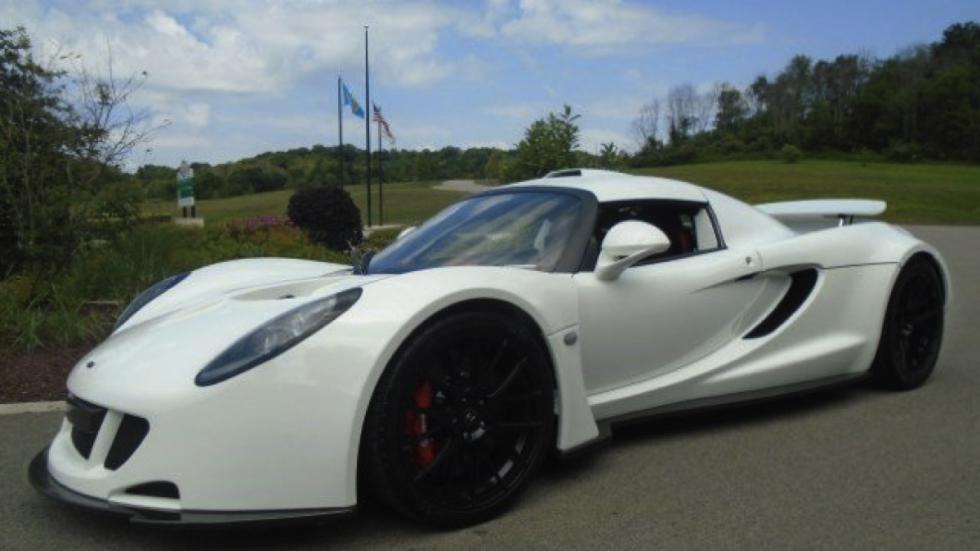 Hennessey Venom GT subasta frontal