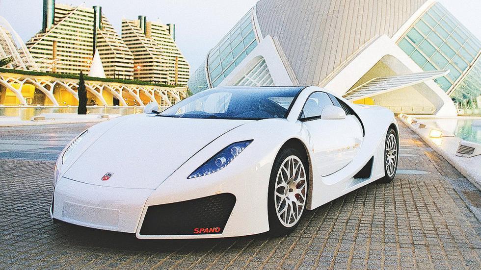GTA Spano: 350 km/h
