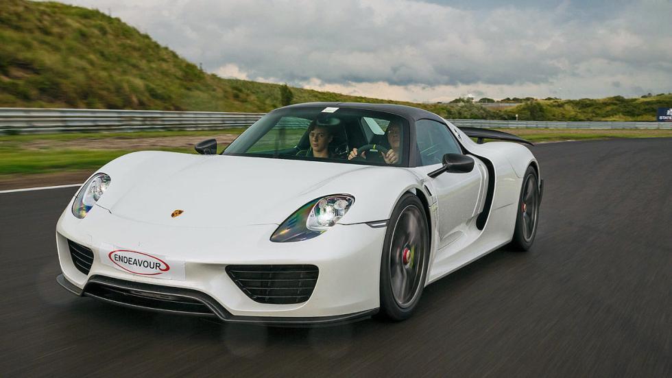 Porsche 918 Spyder: 345 km/h
