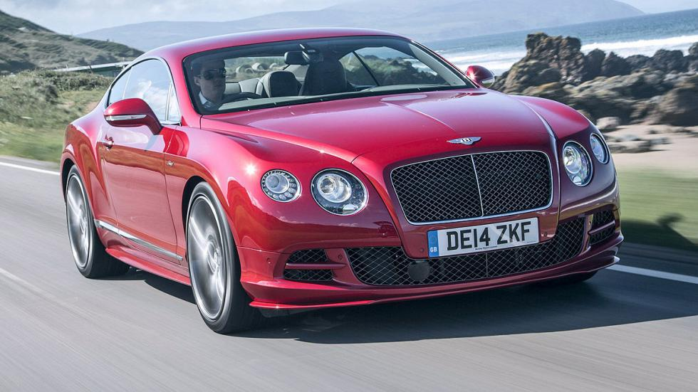 Bentley Continental GT Speed W12: 331 km/h