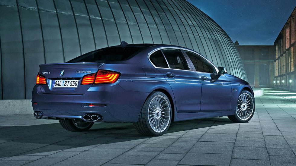 BMW Alpina B5: 323 km/h