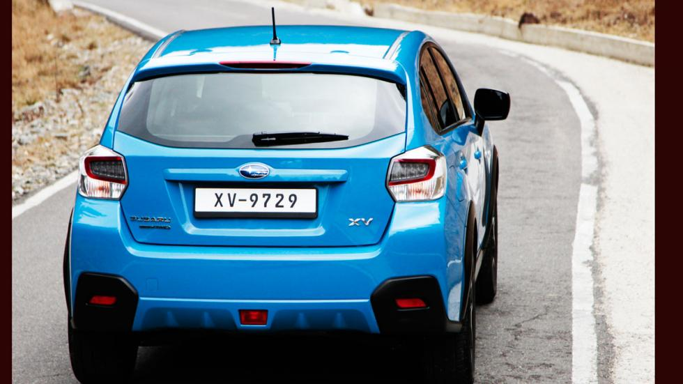 Subaru XV 2016 trasera