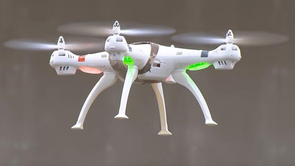 drones policia alemana trabajando