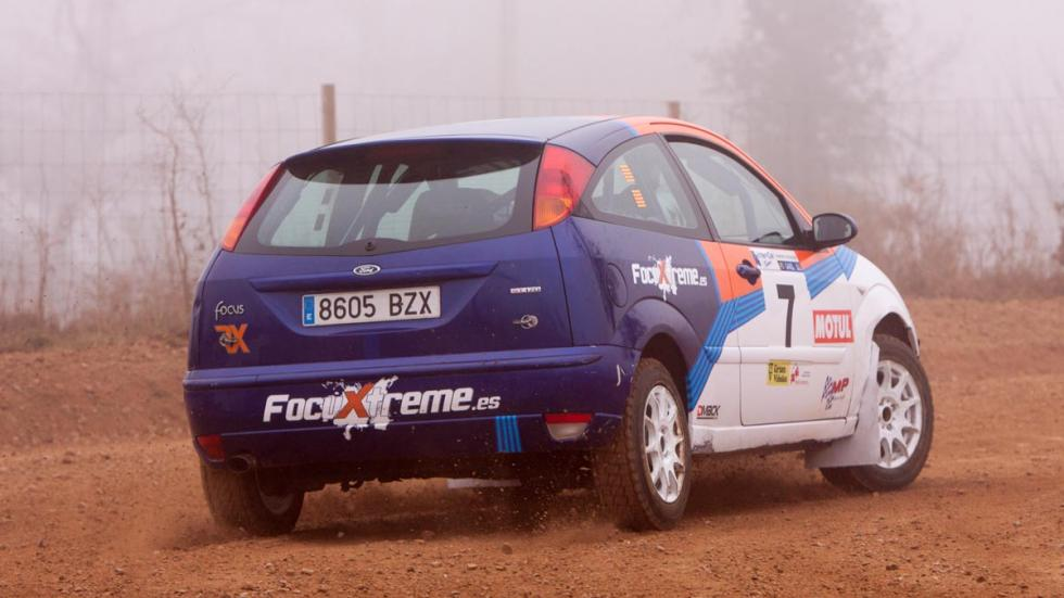 FocusXtreme, test Ford Focus ST, trasera