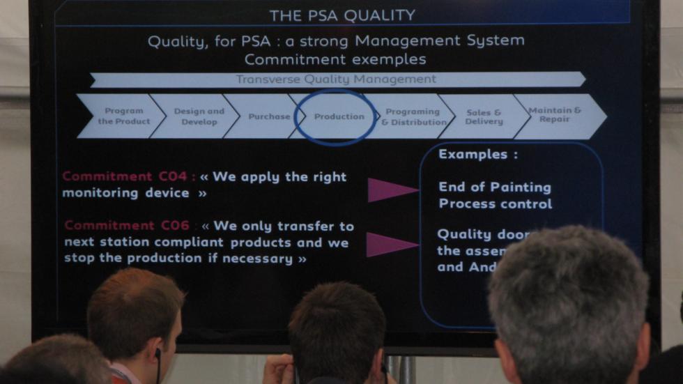 medidas y compromisos de Peugeot para mejorar la calidad